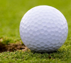 Image of golf ball by hole