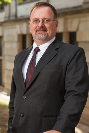 Photo of Dr. Ed Pohl, Department Head
